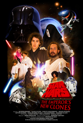 Star Wars – The Emperor's New Clones (aka TENCLO) poster